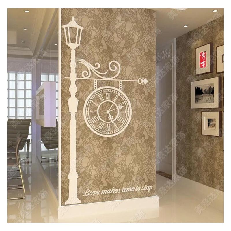 Europian Irish Acrylic Wall Clock