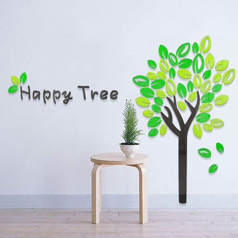 Happy Tree Acrylic Wall Art