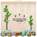 The Loving Tree Acrylic Wall Art