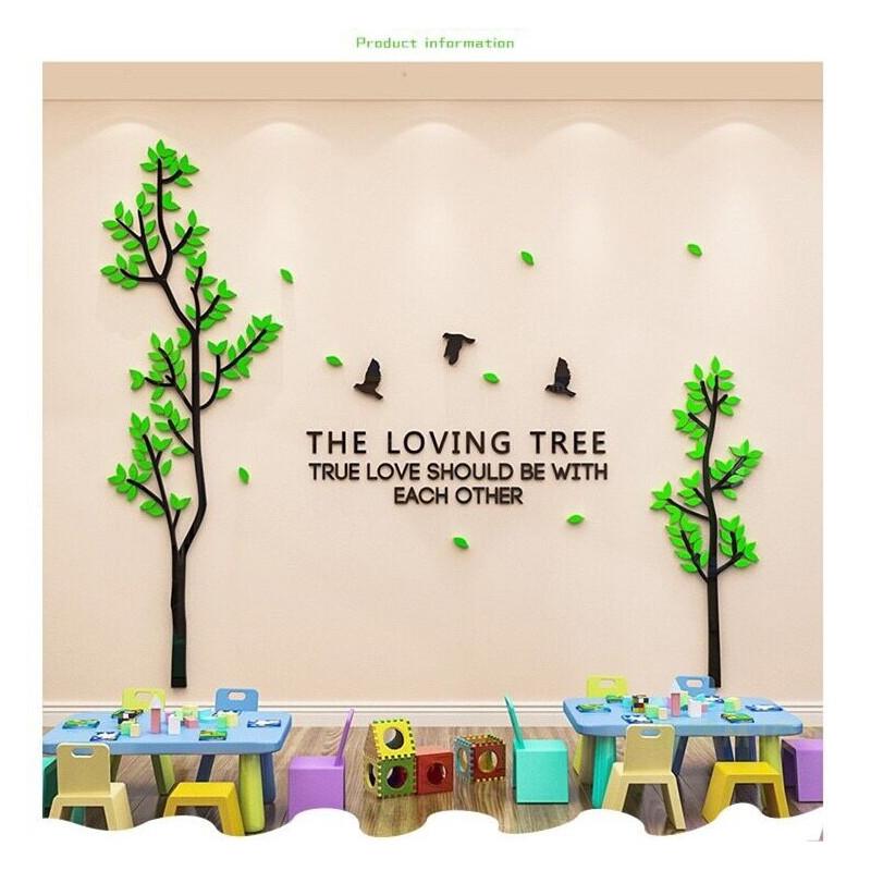 The Loving Tree Acrylic Wall Art