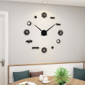 Hexagon Shape DIY 3D Acrylic Wall Clock I-128
