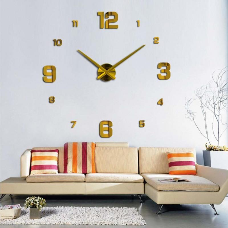 DIY 3D Butterflies Acrylic Wall Clock I-118