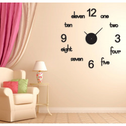DIY Acrylic Wall Clock S-126