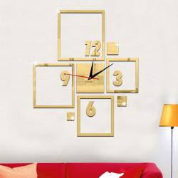 Square Box Acrylic Wall Clock
