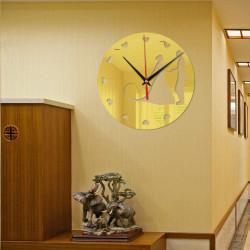 Wedding Couple Acrylic Wall Clock
