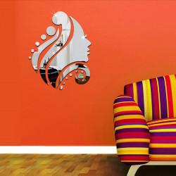 Beautiful Girl Head Acrylic Wall Art