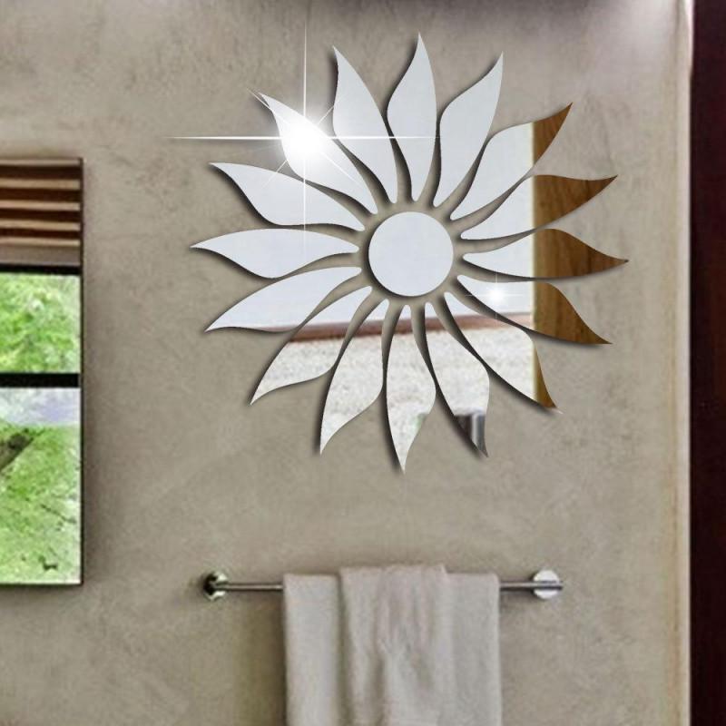 Sunflower Mirror Acrylic Wall Art