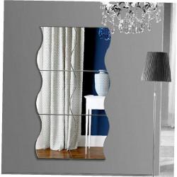 Wave Mirror Acrylic Wall Art