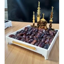 Islamic Dates Tray Acrylic Art T-003