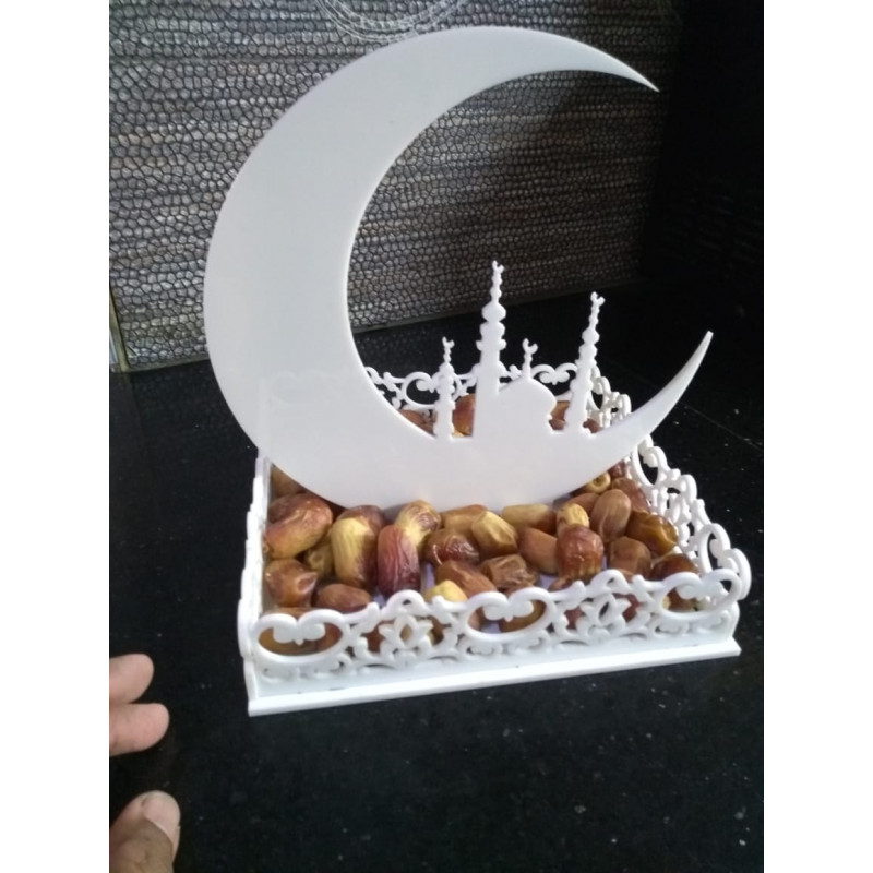 Islamic Dates Tray Acrylic Wall Art T-004