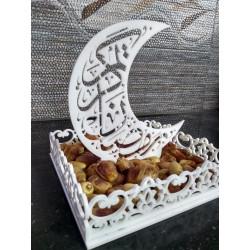 Islamic Dates Tray Acrylic Art T-005