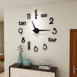 DIY 3D Acrylic Wall Clock I-132