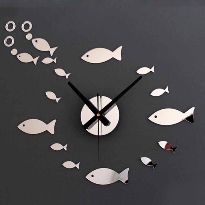 Fish Acrylic Wall Clock