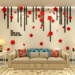 Flower Design All my Life Acrylic Wall Art