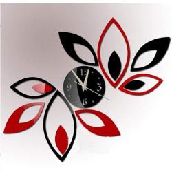 Big Flower Acrylic Wall Clock