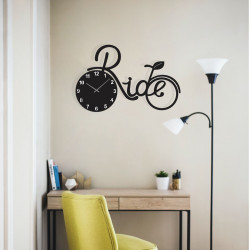 Bicycle Ride Acrylic Wall Clock