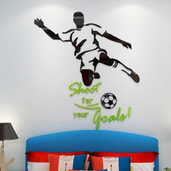 Shoot Your Goal Design Acrylic Wall Art