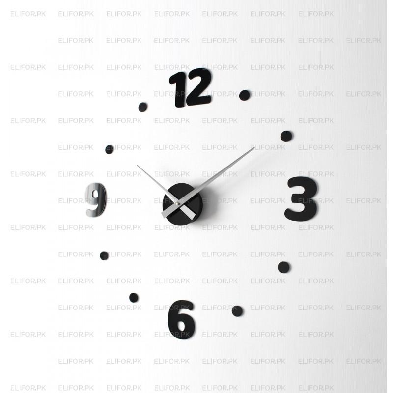 DIY 3D Acrylic Wall Clock I-139