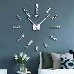DIY 3D Acrylic Wall Clock I-143