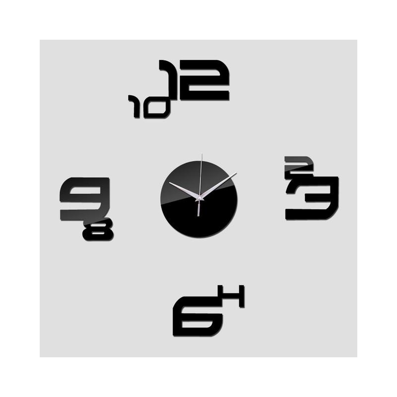 Numbers Acrylic Wall Clock