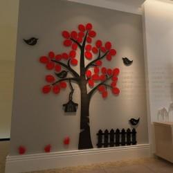Tree Shape Acrylic Wall Art