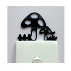 Tree Acrylic Switch Panel Art