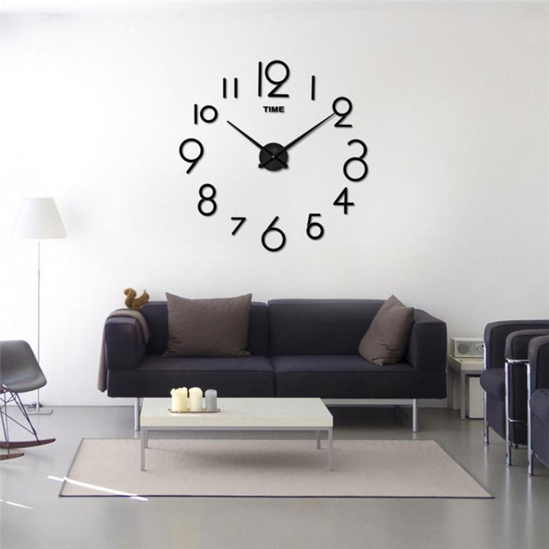 DIY 3D Acrylic Wall Clock I-104