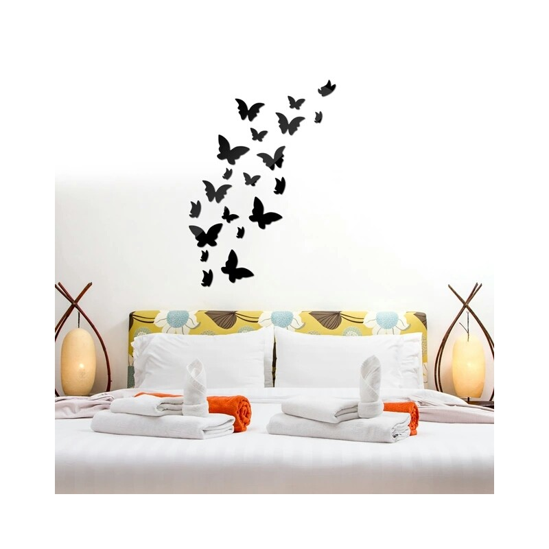 Flying Butterfly Acrylic Wall Art