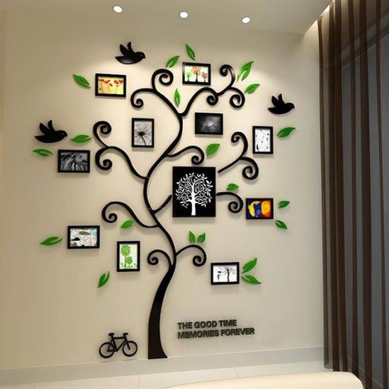 Life Tree Acrylic Wall Art