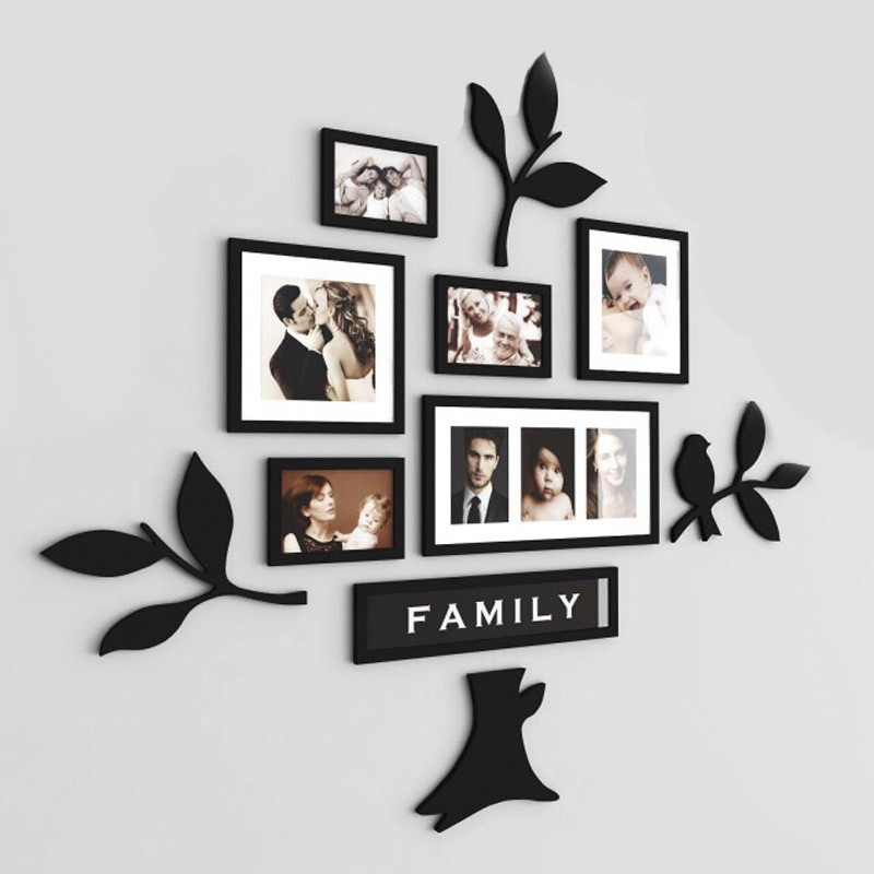 Family Tree Acrylic Wall Art