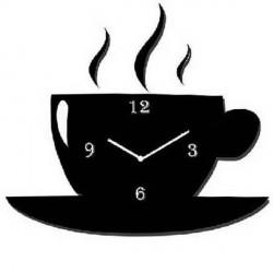 Tea Cup Acrylic Wall Clock