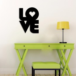 Love Acrylic Wall Art