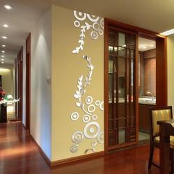 Pillar Bail Rings Acrylic Wall Art