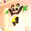 Cute Bear Acrylic Wall Art