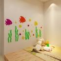 Sea World Fish Acrylic Wall Art