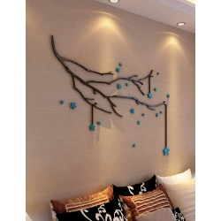 Branches with Stars Acrylic Wall Art