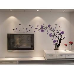 Decor Smart Birds and Tree Acrylic Wall Art