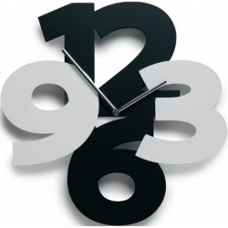 Conjusted Numbers Acrylic Wall Clock