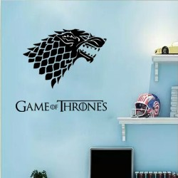 Game of Thrones Wolf Acrylic Wall Art