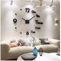 DIY 3D Acrylic Wall Clock I-121