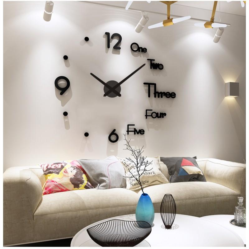 DIY 3D Acrylic Wall Clock I-121
