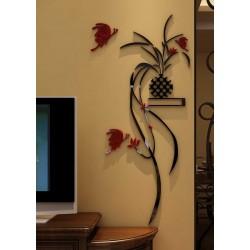 Mural Vase 3D Acrylic Wall Art