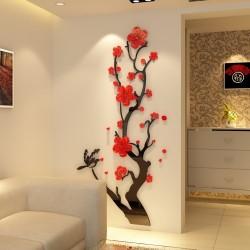 Plum Blossom Acrylic Wall Art