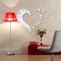 Flying Hearts Acrylic Wall Art